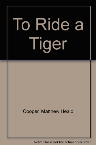 9780575034150: To Ride a Tiger
