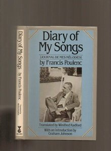 Diary of My Songs: Journal De Mes: Poulenc, Francis