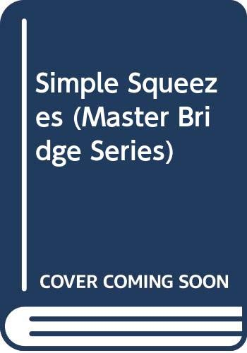 9780575036079: Simple Squeezes (Master Bridge Series)