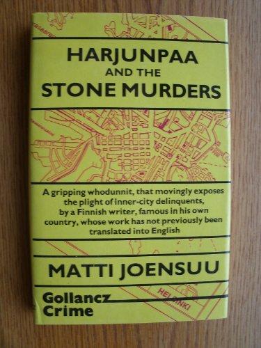 Harjunpaa and the Stone Murders: Joensuu, Matti