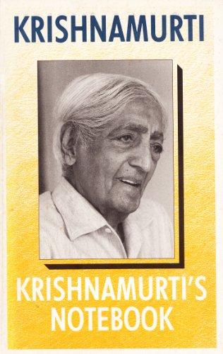9780575037632: Krishnamurti's Notebook
