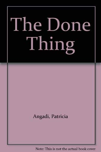 The Done Thing