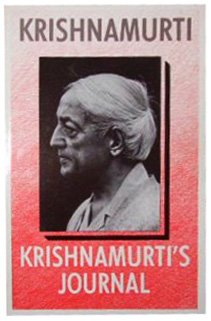 Krishnamurti's Journal (9780575041264) by J. Krishnamurti