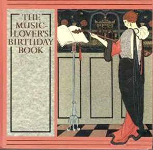 9780575041615: The Music-Lover's Birthday Book