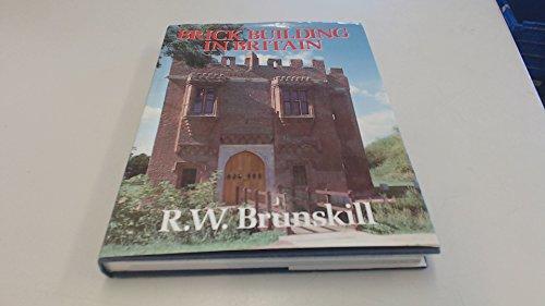 9780575044579: Brick Building in Britain