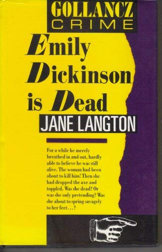 9780575045934: Emily Dickinson Is Dead