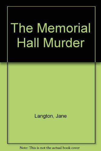 9780575046924: The Memorial Hall murder
