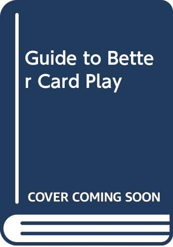 9780575047648: Guide to Better Card Play