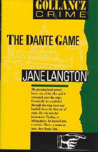 9780575049321: The Dante Game