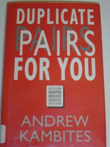 9780575051089: Duplicate Pairs for You (Master Bridge Series)