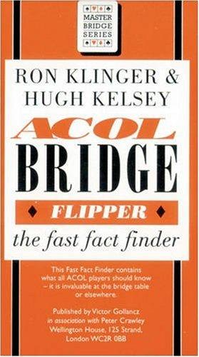 9780575058255: Acol Bridge Flipper: The Fast Fact Finder (Master bridge series)