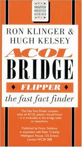 9780575058255: Acol Bridge Flipper: The Fast Fact Finder (Master bridge series)