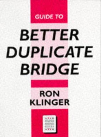 9780575059467: Guide to Better Duplicate Bridge (Master Bridge)