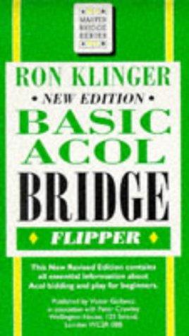 9780575062481: Basic Acol Bridge Flipper (Master Bridge)