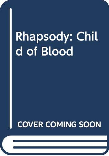 9780575072435: Rhapsody: Child of Blood