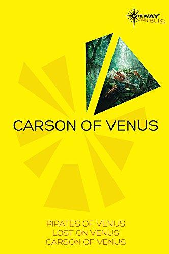 Edgar Rice Burroughs Gateway Omnibus Pirates of Venus Lost on Venus Carson of Venus: Edgar Rice ...
