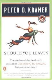 9780575401815: Should You Leave?: The Dilemmas of Intimacy