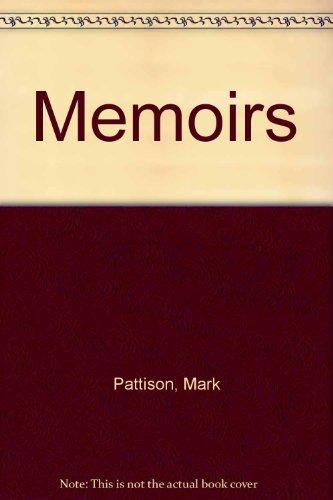 9780576021517: Memoirs