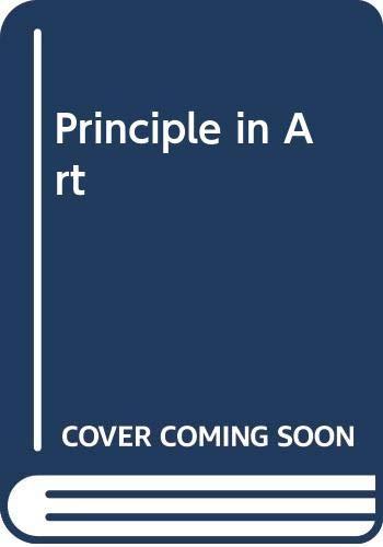 9780576021753: Principle in Art