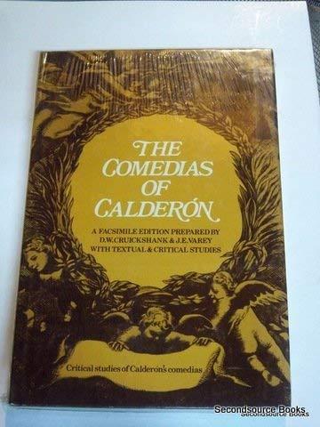 9780576141192: Calderon comedias Critical Studies XIX (19)