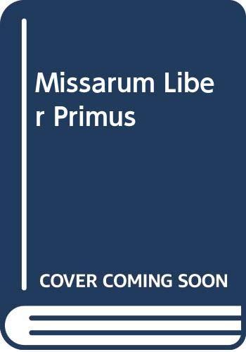 Missarum Liber Primus : Rome 1567 /: Animuccia, Giovanni,