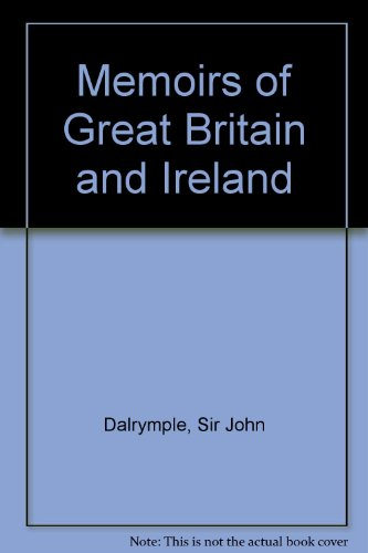 9780576789165: Memoirs of Great Britain and Ireland