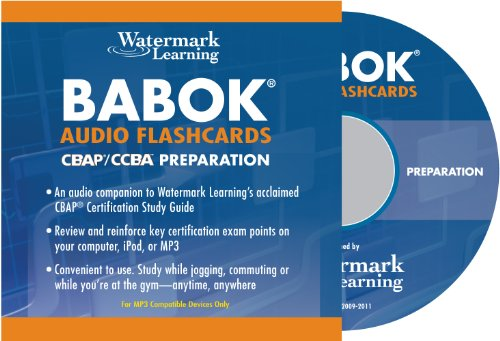 9780578010151: BABOK Audio Flashcards - CBAP/CCBA Preparation