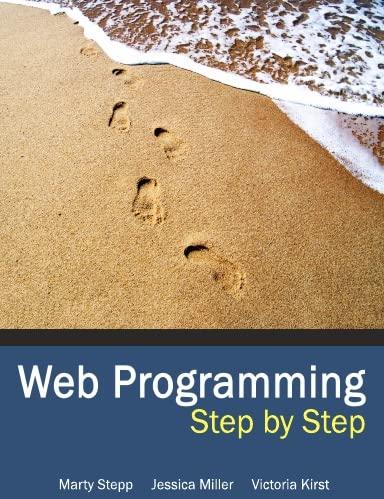 9780578012391: Web Programming Step by Step