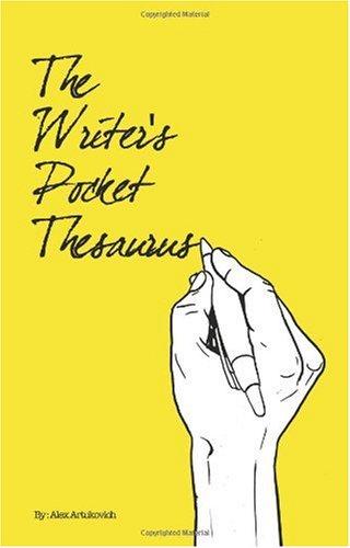 9780578012551: The Writer's Pocket Thesaurus