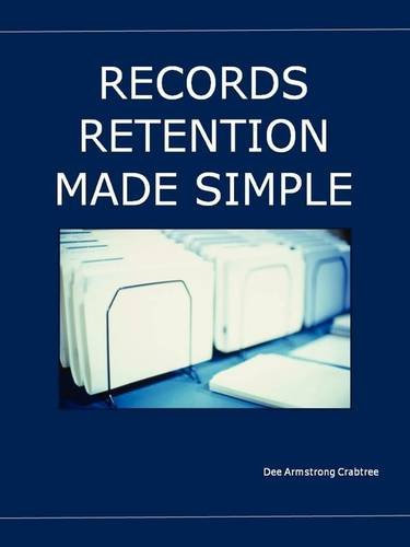 9780578013084: Records Retention Made Simple