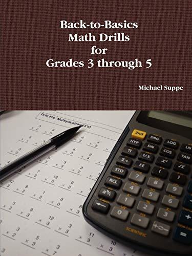 9780578024721: Back-to-Basics Math Drills for Grades 3 through 5