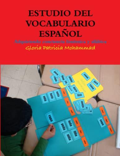 9780578035819: ESTUDIO DEL VOCABULARIO ESPAÑOL (Spanish Edition)