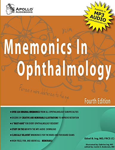 9780578041155: Mnemonics In Ophthalmology, 4th Edition