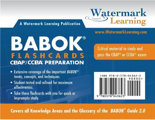 9780578043623: BABOK Study Flashcards