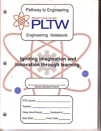 9780578050270: PLTW ENGINEERING NOTEBOOK FOR PTE: PTE ENGINEERING NOTEBOOK
