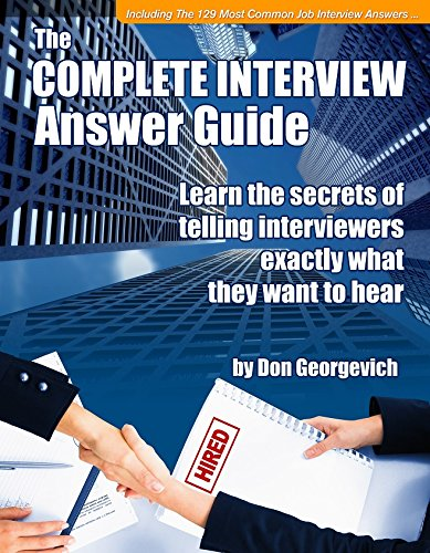 9780578051024: Complete Interview Answer Guide