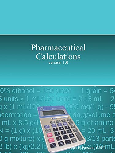 9780578063737: Pharmaceutical Calculations