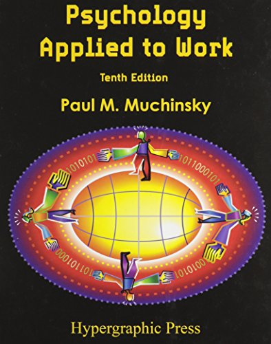 9780578076928: Psychology Applied to Work