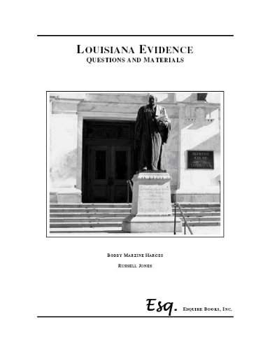 9780578088143: Louisiana Evidence Cases, Problems and Materials