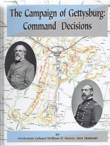 9780578103020: The Campaign of Gettysburg: Command Decisions