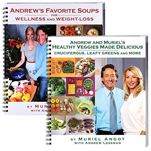 9780578118871: Andrew's Favorite Soups & Healthy Veggies Cookbook Bundle by Muriel Angot w 2 Books