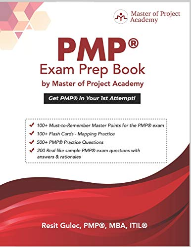 9780578570204: PMP® Exam Prep Book by Master of Project Academy: Get PMP® in Your 1st Attempt!