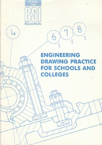 9780580153891: BSI Engineering Drawing Practice for Schools and Colleges