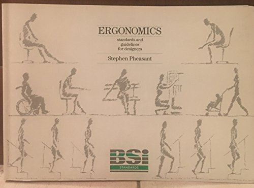 9780580153914: Ergonomics: Standards and Guidelines for Designers