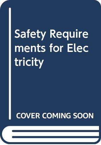 9780580224331: Safety Requirements for Electricity