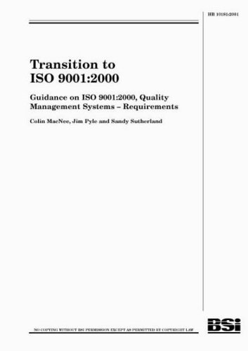 9780580332487: Transition to ISO 9001:2000