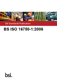 9780580504655: BS ISO 16750-1:2006