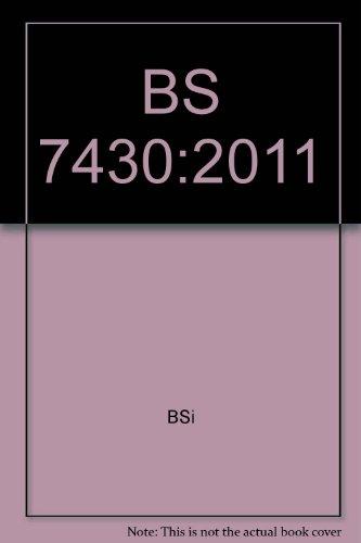 9780580551703: BS 7430:2011