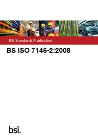9780580569272: BS ISO 7146-2:2008
