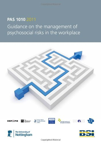 9780580698392: Guidance on the management of psychosocial risks in the workplace (PAS 1010:2011)